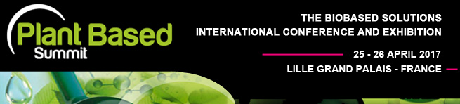 The Biobased Solutions International Conference and Exhibition, Lille, 25-26 avril 2017