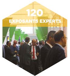 120 exposants experts